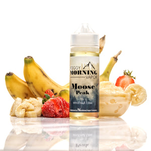 Moose Peak eLiquid - Foggy Morning Vapor