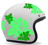 "STICKERS / DECO Casque BOL ""HIBISCUS"""
