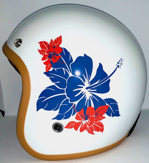 Stickers pour Casques Bol FLOWERS