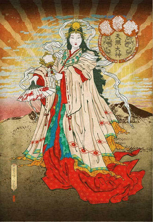 Goddess of the Month: Amaterasu, September 2019