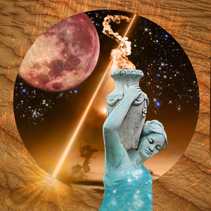 COLLECTIVE CONSCIOUSNESS: Total Lunar Eclipse + Full Moon in Aquarius, July 27th, 2018
