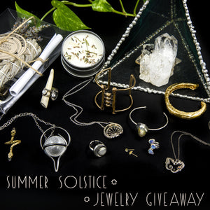 Summer Solstice Jewelry Giveaway!