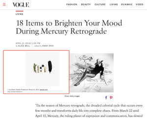 J. Southern Studio's Protection Ritual Kit Featured on Vogue.com