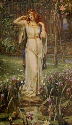 Goddess of the Month: Freyja, August 2019