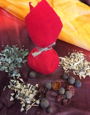 Sacred Sundays: Making a Mojo Bag for Protection