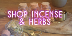incense and herbs
