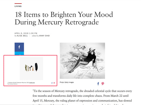 mercury retrograde vogue