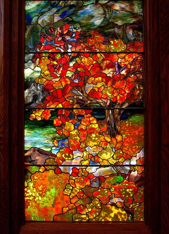Autumn Landscape by Louis Comfort Tiffany