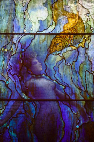 Mermaid,  by Louis Comfort Tiffany