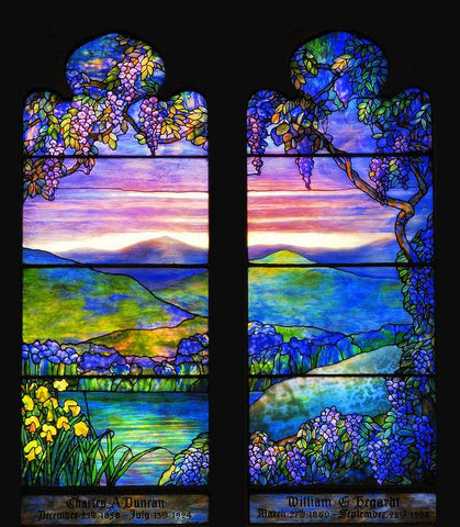 Memorial Window by Louis Comfort Tiffany