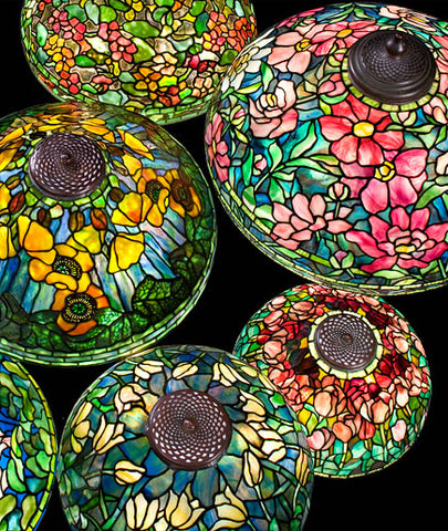 Lamp Shades by Louis Comfort Tiffany