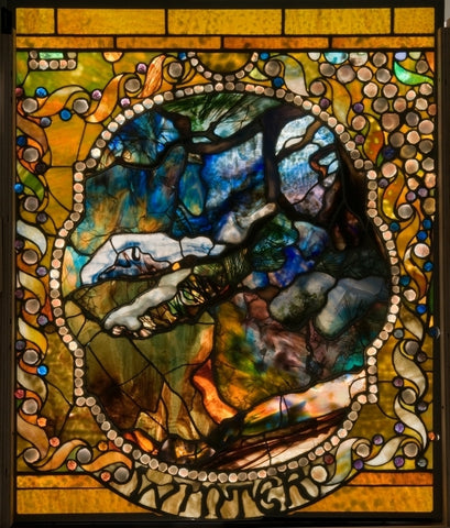 Winter by Louis Comfort Tiffany