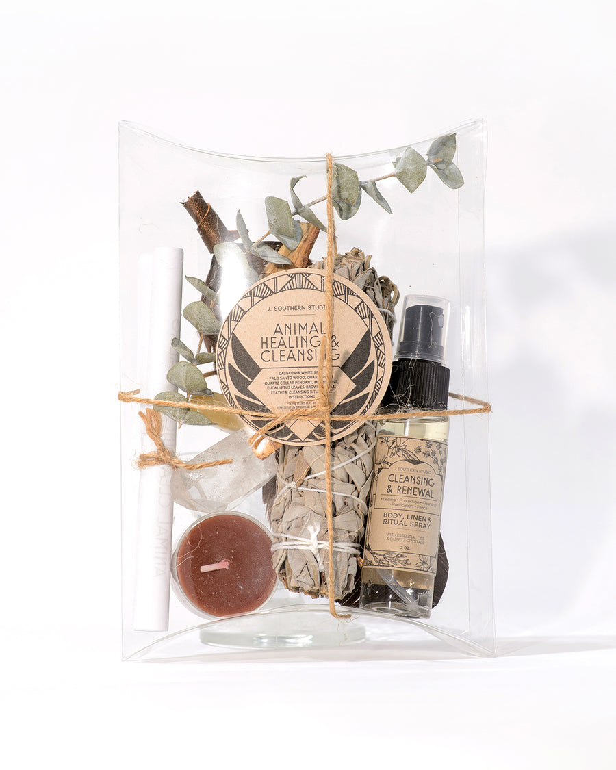 Animal Healing & Cleansing Deluxe Ritual Kit