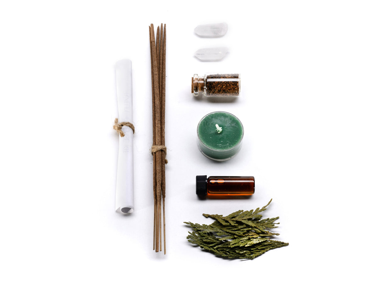 """Ballin'"" Incense Making Ritual Kit"