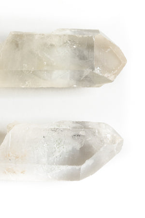 Crystal Quartz Natural Points, large