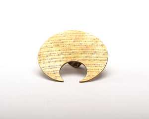 Crescent Moon Cymbal Ring