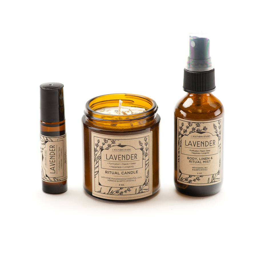 Lavender Apothecary Gift Set