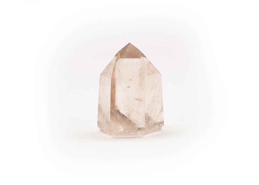 Smokey Quartz Crystal Point & Generator, medium