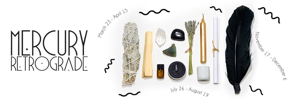 Mercury Retrograde Ritual Kit
