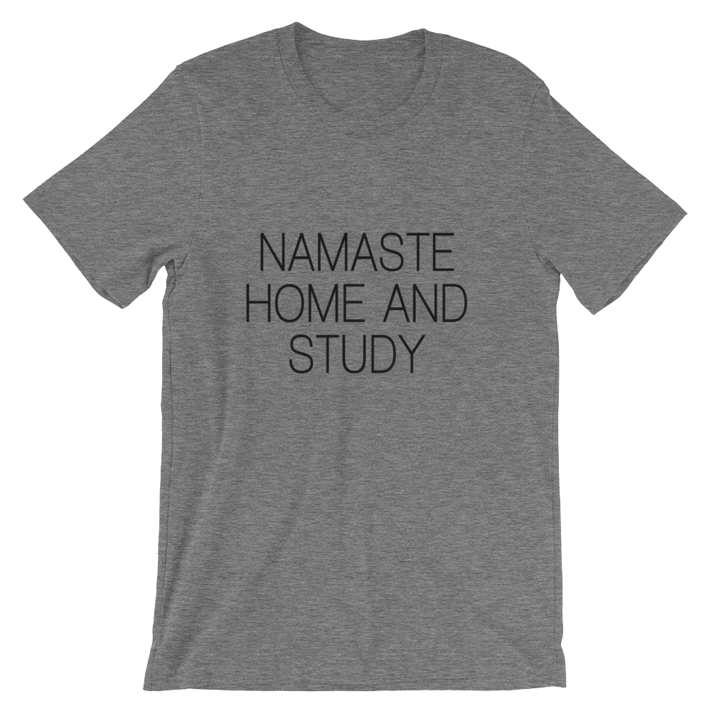 Namaste Home and Study Cotton Tee