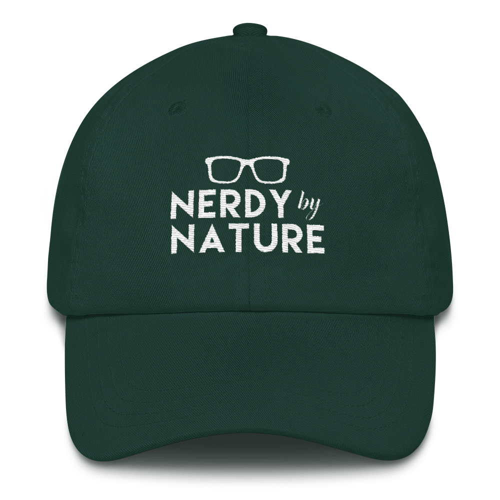 Nerdy By Nature Cap