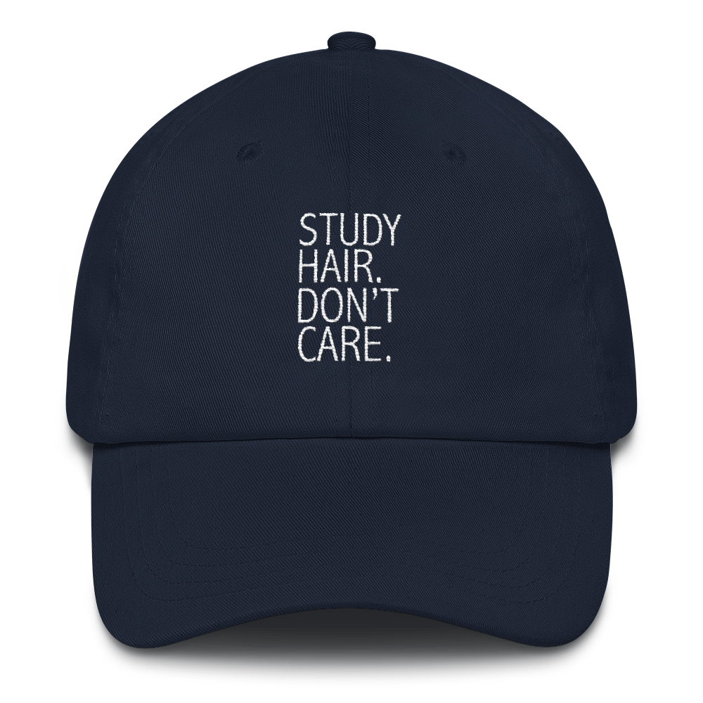 Study Hair Don't Care Cap