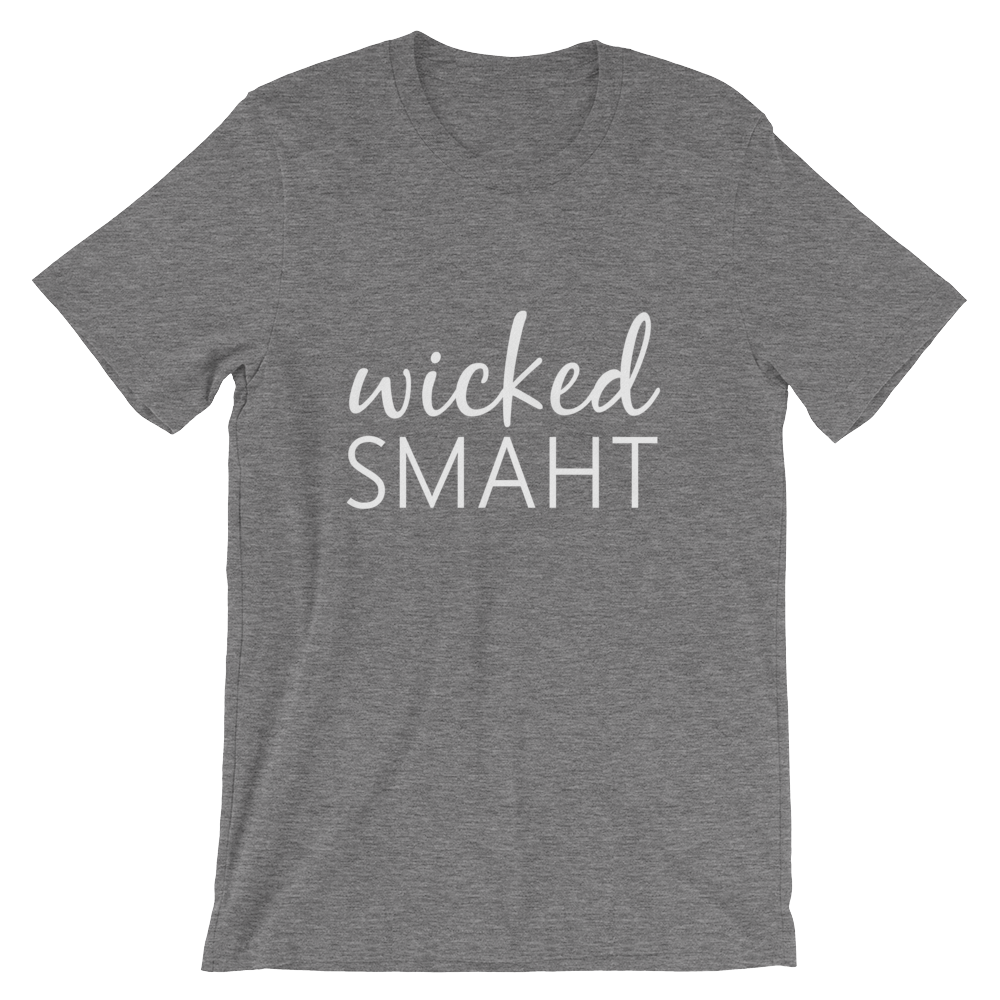 Wicked Smaht Cotton Tee