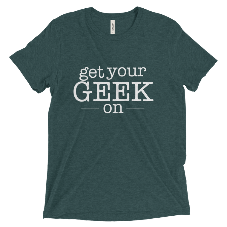 Get Your Geek On Triblend Tee