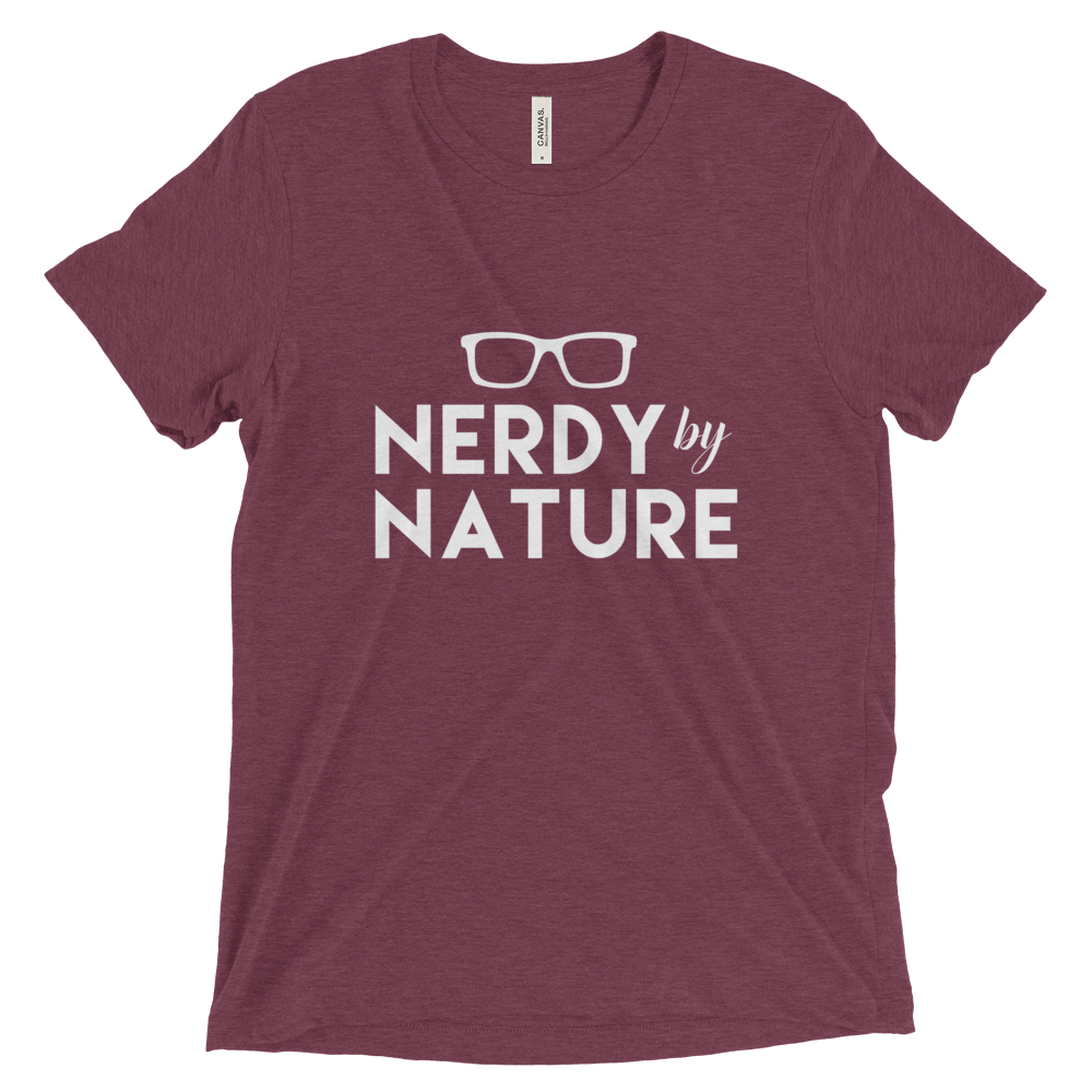 Nerdy by Nature Triblend Tee