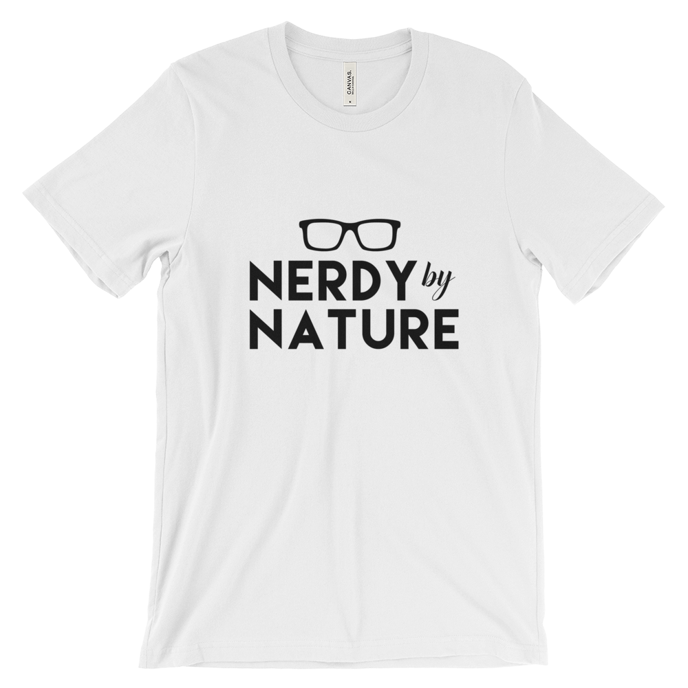 Nerdy by Nature Cotton Tee