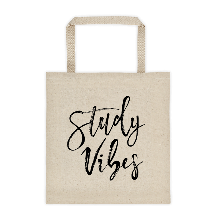 Study Vibes Tote