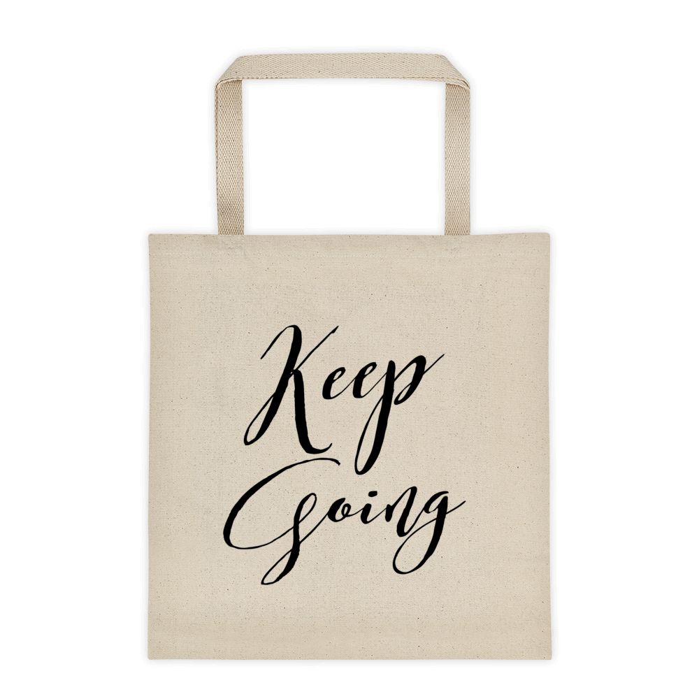 Keep Going Tote
