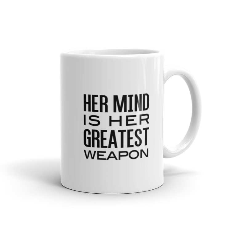 Her Mind is Her Greatest Weapon Mug