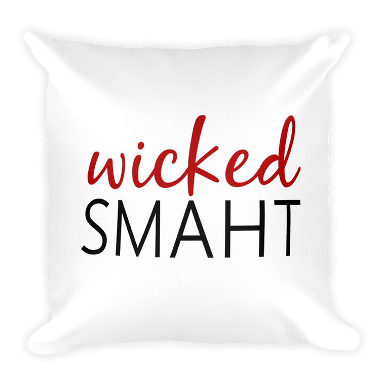 Wicked Smaht Pillow