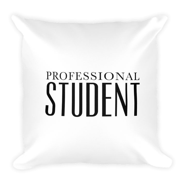 Professional Student Pillow