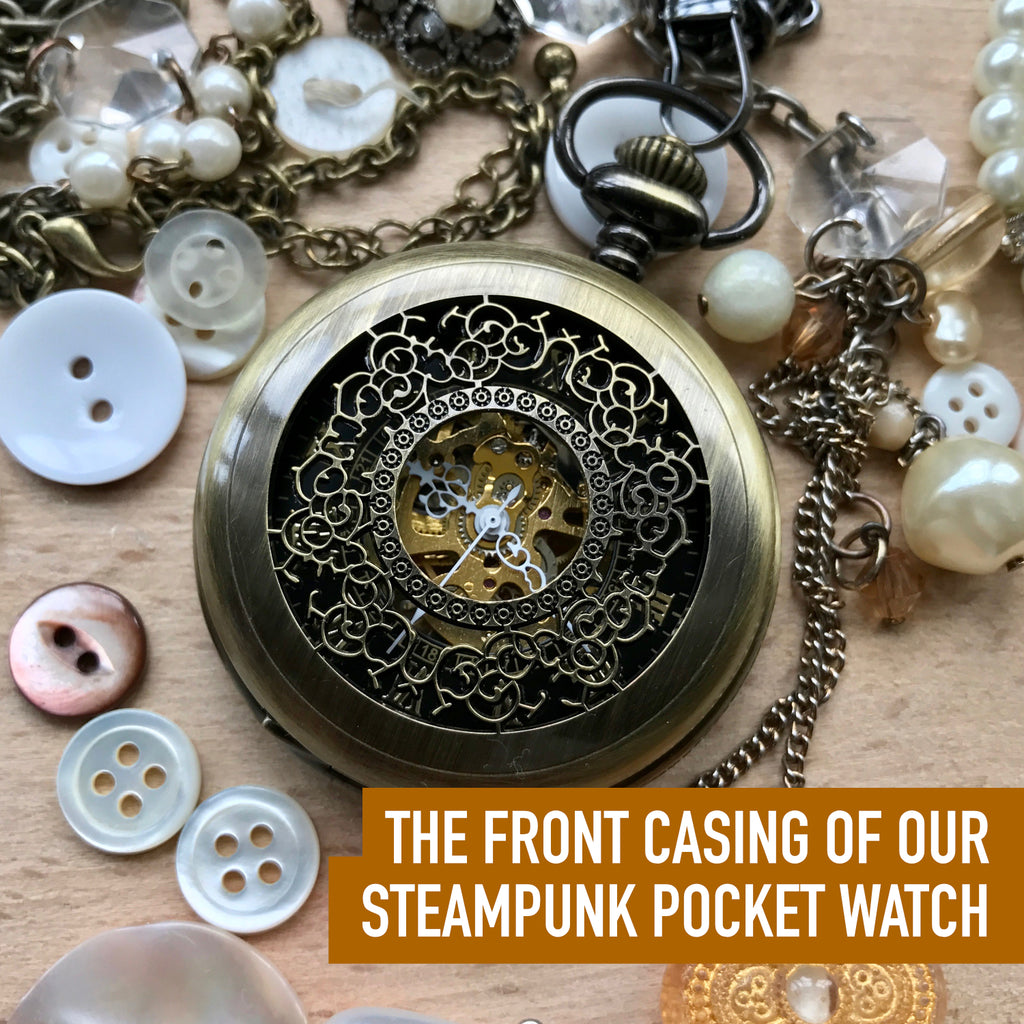 Steampunk pocket watch for Andy