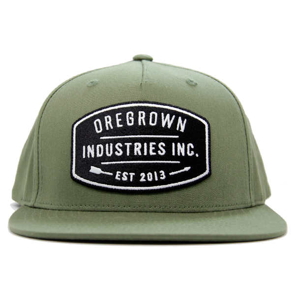 Oregrown Flatbrim Industries Hat