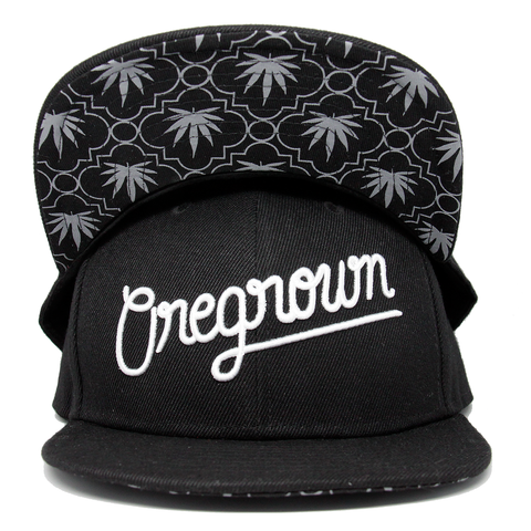 Oregrown Original Snapback- Black