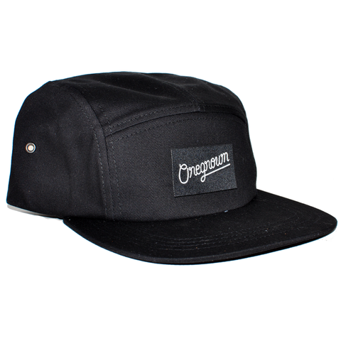 Oregrown x NGC Five Panel Hat - Black