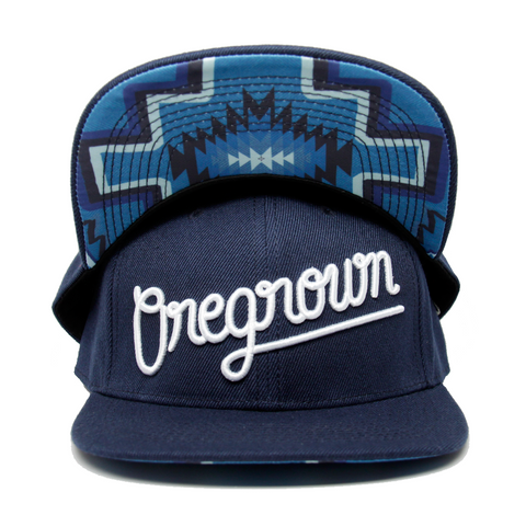 Oregrown Original Snapback- Blue