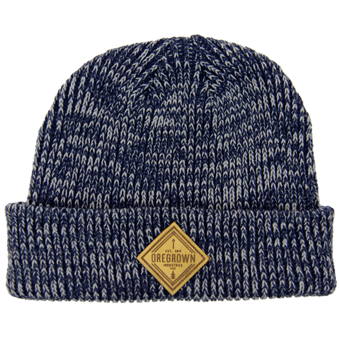 Oregrown x NGC Knit Beanie- Blue