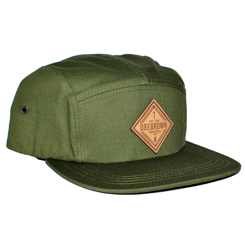 Oregrown x NGC Five Panel Hat - Green