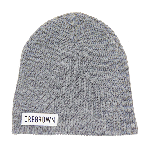 Oregrown Slouch Beanie- Grey