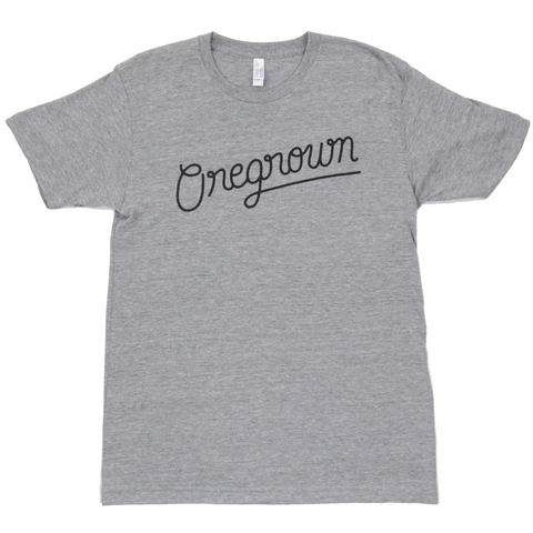 Original Oregrown Tee- Athletic Grey