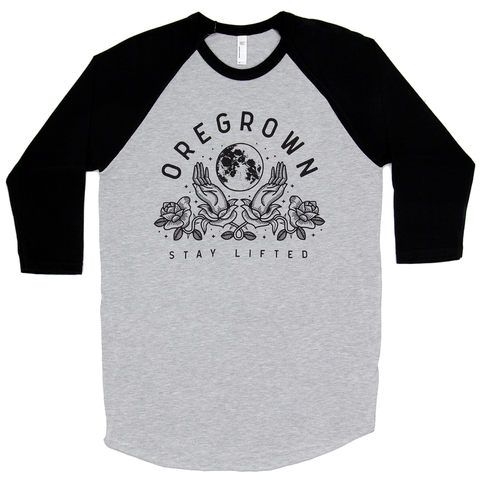 Full Moon Raglan- Grey