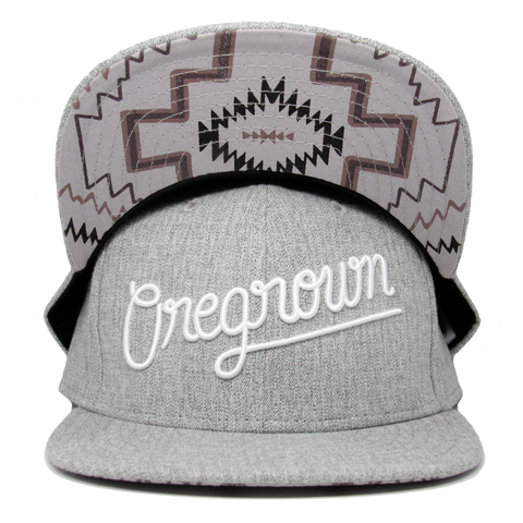 Oregrown Original Fitted Cap- Light Grey