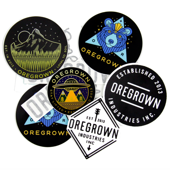 Oregrown Sticker Pack