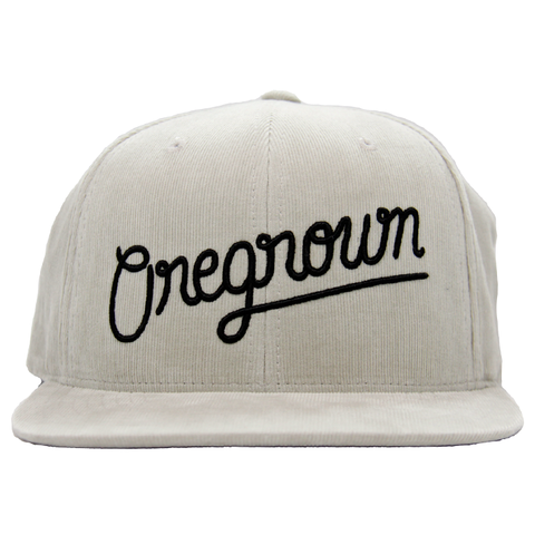 Oregrown Corduroy Snapback- Tan