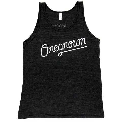 Original Oregrown Tank- Charcoal Black