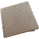 Coaster Tile-tumbled Travertine Porous Craft Tile in Ivory Color